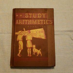 Vintage study arithmetics book